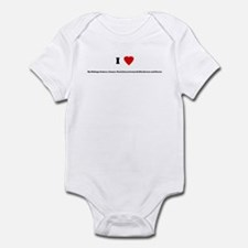 I Love My Siblings: Isabeau,  Infant Bodysuit