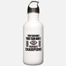 YOUR TEAM FANTASY CHAMPIONS Water Bottle