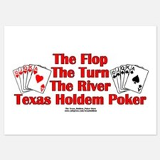 The Flop The Turn The River:Texas Hold Invitations