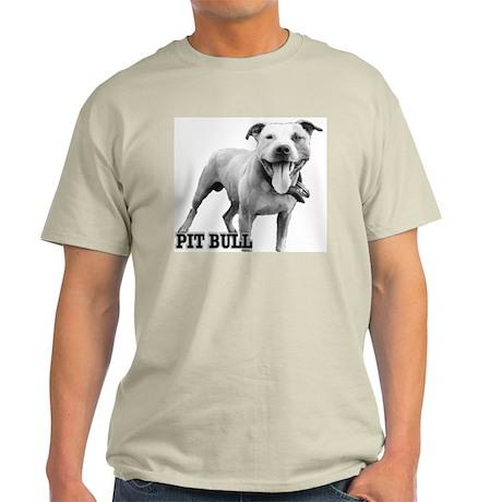 Happy Pit Ash Grey T-Shirt