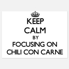 Keep Calm by focusing on Chili Con Car Invitations