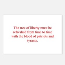 The tree of liberty must be refreshed from time to