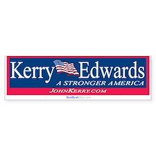 """Kerry Edwards"" Bumper Bumper Sticker"
