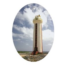 Lighthouse Oval Ornament