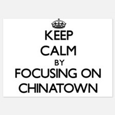 Keep Calm by focusing on Chinatown Invitations