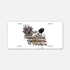 Gold Miner Aluminum License Plate