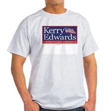 """Kerry Edwards"" Ash Grey T-Shirt"