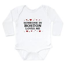 Someone in georgia loves me Long Sleeve Infant Bodysuit