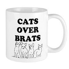Cats Over Brats Mugs
