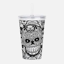 Sugar Skulls Acrylic Double-wall Tumbler
