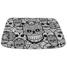 Sugar Skulls Bathmat