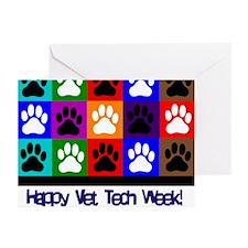 Vet Tech Week Greeting Cards