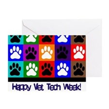Vet Tech Week Greeting Cards