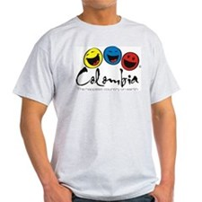 Colombia-the-happie... T-Shirt