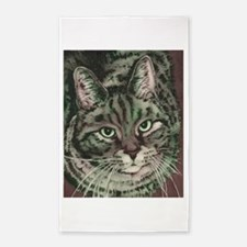 Tommy Cat 3'x5' Area Rug