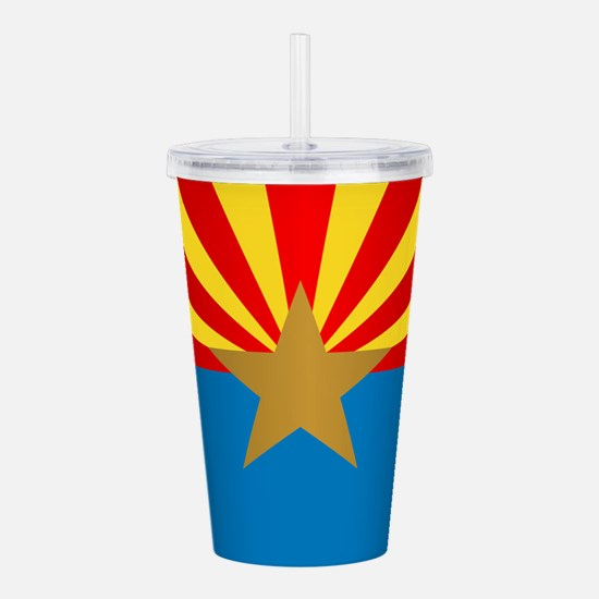 Arizona (v15b) Acrylic Double-wall Tumbler