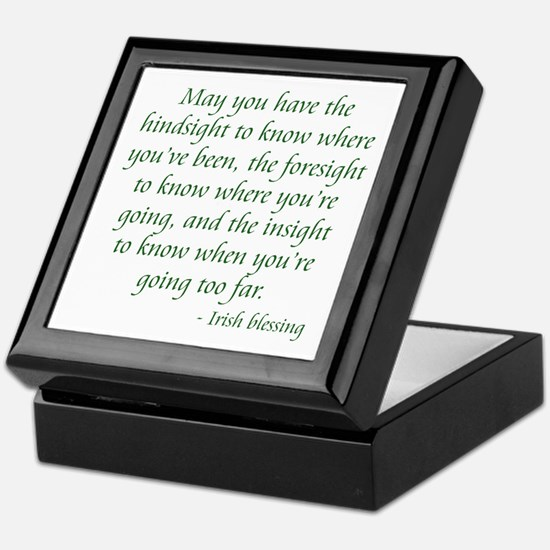Irish Blessing 2 Keepsake Box