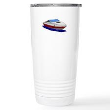 Red Cuddy Cabin Power B Travel Mug
