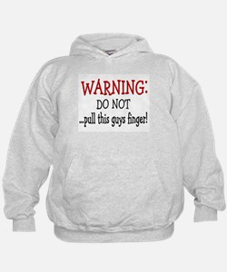 Warning~ do NOT pull this man Hoodie