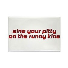 Sine Your Pitty Rectangle Magnet
