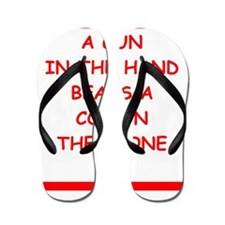 gun rights Flip Flops