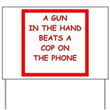 gun rights Yard Sign