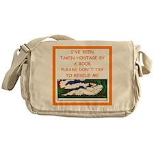book lover Messenger Bag