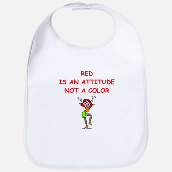 red head Bib