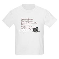 Remember Remember Kids T-Shirt