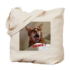Rawr Kitty Tote Bag