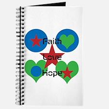 Faith, Love, Hope With Design Journal