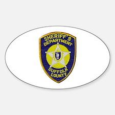 Suffolk Sheriff Decal