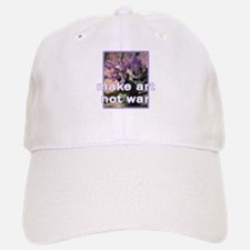 Make Art Not War Baseball Baseball Cap