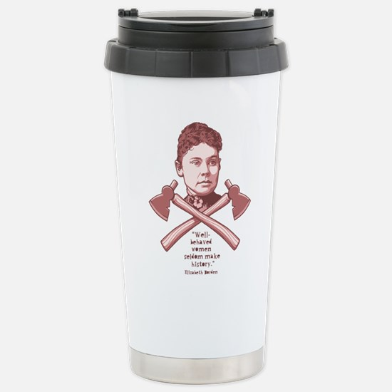 Well Behaved Lizzie Stainless Steel Travel Mug
