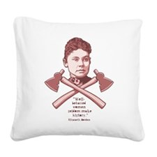 Well Behaved Square Canvas Pillow