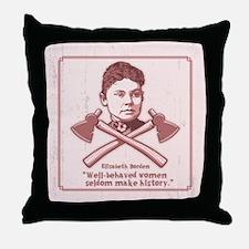 Well Behaved Throw Pillow