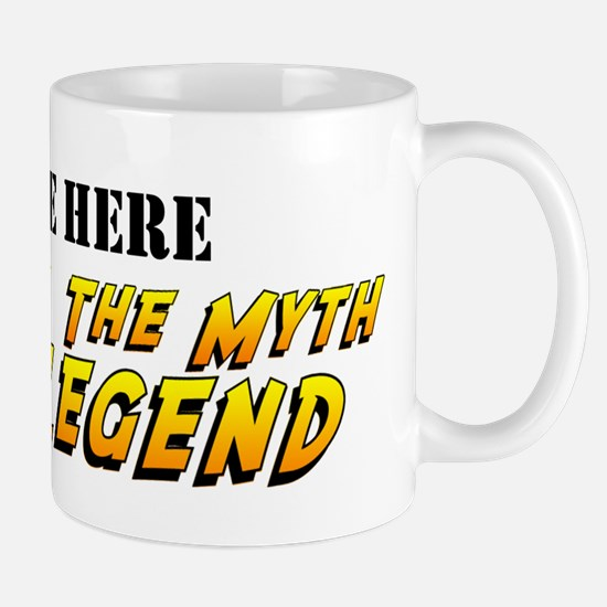 Man Myth Legend Custom Mugs