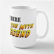 Man Myth Legend Custom MugMugs