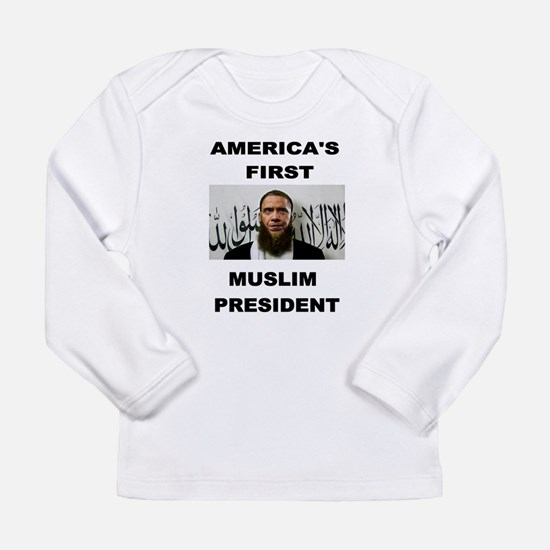 MUSLIM PRESIDENT Long Sleeve T-Shirt