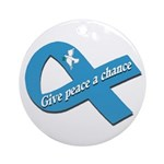 Give Peace a Chance (Tree Ornament)