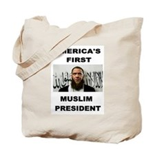 MUSLIM PRESIDENT Tote Bag