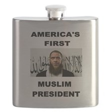 MUSLIM PRESIDENT Flask