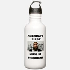 MUSLIM PRESIDENT Water Bottle