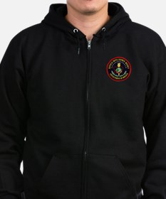 Unique Intelligence Zip Hoody