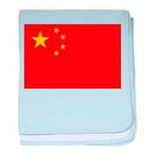 Flag of the People's Republic of Chin baby blanket