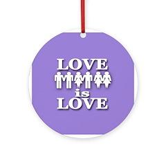 Love is Love (Christmas Tree Ornament)