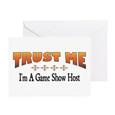 Trust Game Show Host Greeting Cards (Pk of 10)