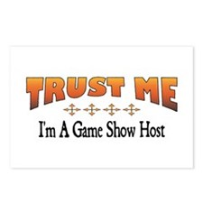 Trust Game Show Host Postcards (Package of 8)