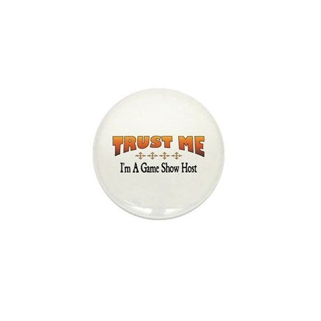 Trust Game Show Host Mini Button (10 pack)