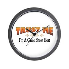 Trust Game Show Host Wall Clock